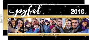 Joyful Year in Review Holiday Card