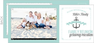 Summer Getaway Family Reunion Invitation