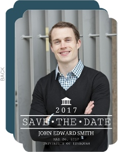 Law School Graduation Save the Date Announcement