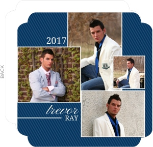 Photo Collage Graduation Invitation