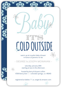 Brr Its Cold Baby Shower Invitation