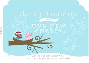 Winter Nest Holiday Moving Announcement