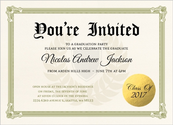 Cheap Funny Graduation Invitations - Invite Shop
