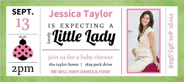 cheap girl baby shower invitations - invite shop, Baby shower invitations