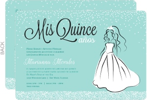 Cheap Quinceanera Invitations - Invite Shop