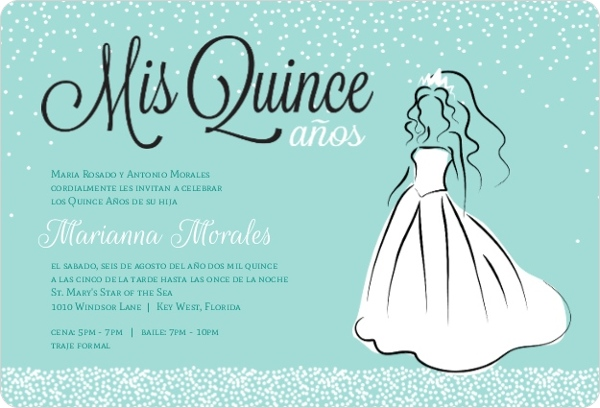 Cheap Quinceanera Invitations | Invite Shop