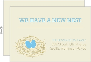 New Nest Moving Announcement
