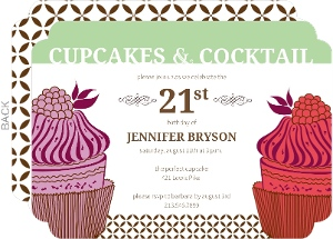Cupcakes and Cocktails Birthday