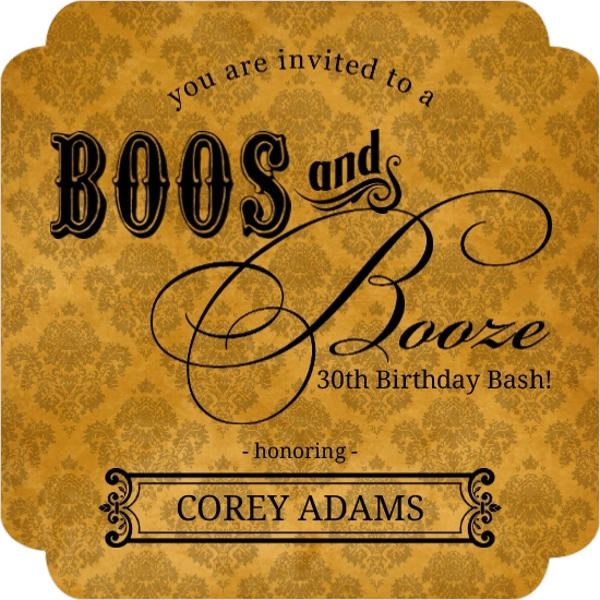 Th Birthday Invitation Halloween Orderecigsjuiceinfo - Halloween birthday invitations party