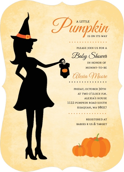 cheap halloween invitations  invite shop, Baby shower