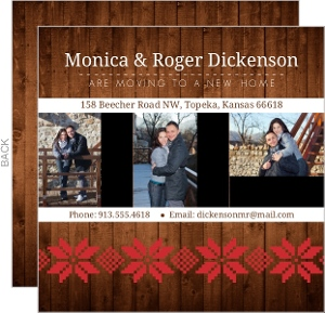 Woodgrain Holiday Moving Announcement