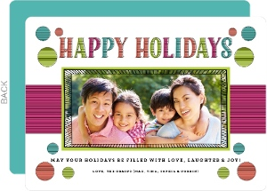 Tidings of Joy Holiday Photo Card