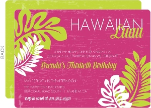 cheap luau invitations  invite shop, invitation samples