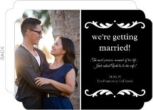 Cheap Engagement Announcement Cards & Inexpensive ...