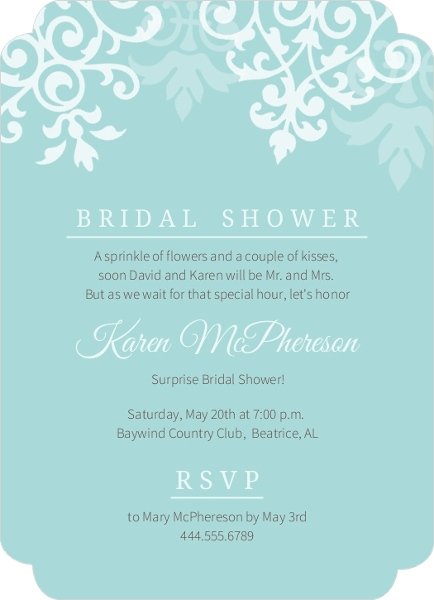 inside floral cheap shower classic invites invitations purple wedding bridal dress