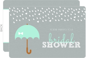 It's Raining Hearts Bridal Shower Invitation