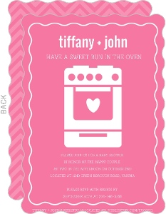 the oven girl baby shower invite cheap girl baby shower invitations