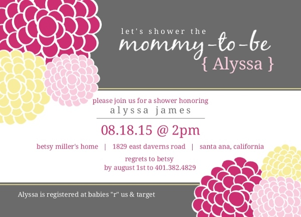 cheap girl baby shower invitations  invite shop, Baby shower invitation