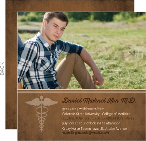 Brown Medical School Grad Invite