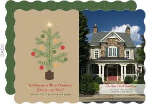 Oh Christmas Tree Holiday Moving Announcement