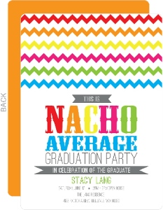 Nacho Average Graduation Invitation