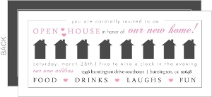 Gray House and Pink Hearts Moving Announcement