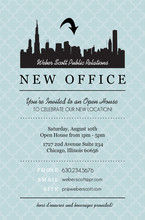 Business Open House Invitation Template | Free Business Template