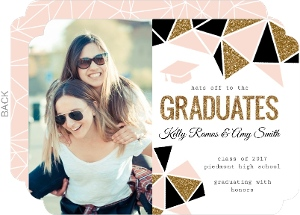 Joint Graduation Party Invitations Twin Graduation Announcements
