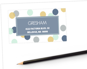 Confetti Cheers Address Label