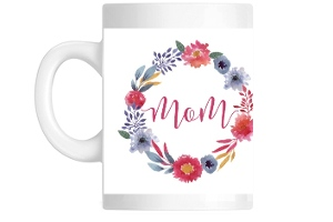 Watercolor Floral Mother's Day Mug