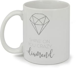 Shine On Diamond Custom Mug