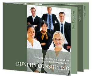 Green Transparency Booklet Brochure