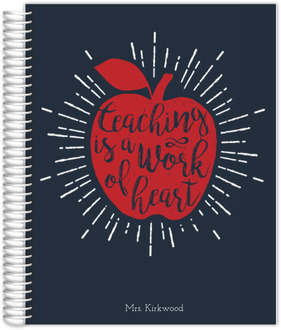Work Of Heart Teacher Journal