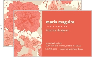 Custom Business Cards - 11163