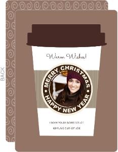 Latte Christmas Card
