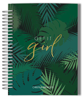 Tropical Get It Girl Monthly Planner