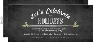 Business Holiday Party Invitations - 11381