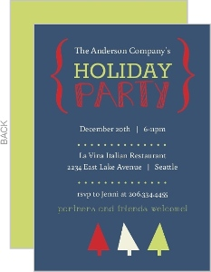 Business Holiday Party Invites - 11383