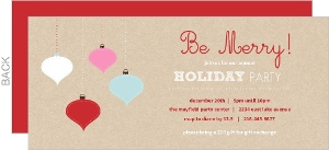 Business Holiday Party Invites - 11385