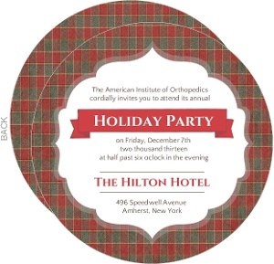 Business Holiday Party Invites - 11406