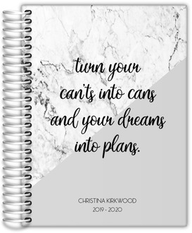 Dreams into Plans Monthly planner