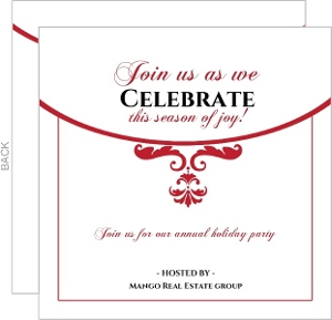 Holiday Party Invites - 11423