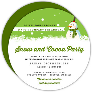 Business Holiday Party Invites - 11425