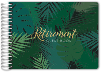 Tropical Retirement Guest Book