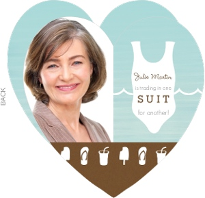 Switching Suits Heart Retirement Party Invitation