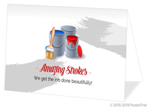 Alternate Damask Business Card