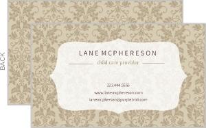 Custom Business Cards - 11514