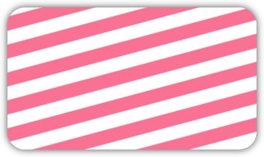 Modern Pink Bracket Business Card