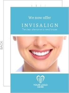 Aqua Photo Dental Postcard