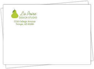 Green Pear Envelope
